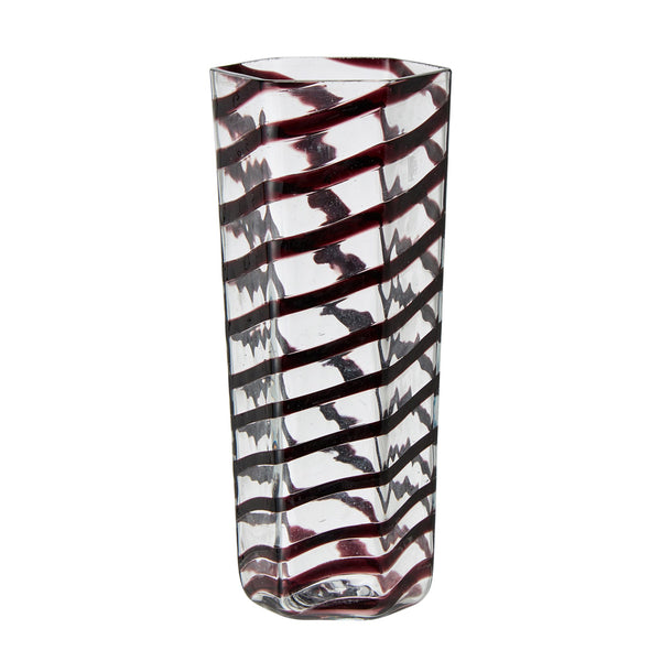 Hexagon Murano Tall Tumbler, Various Colours