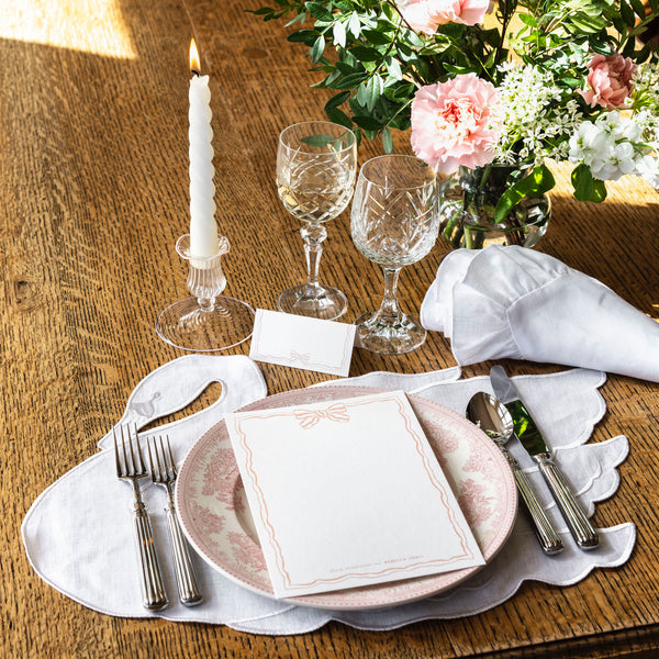 Isla Simpson Rebecca Udall swan  linen placemat