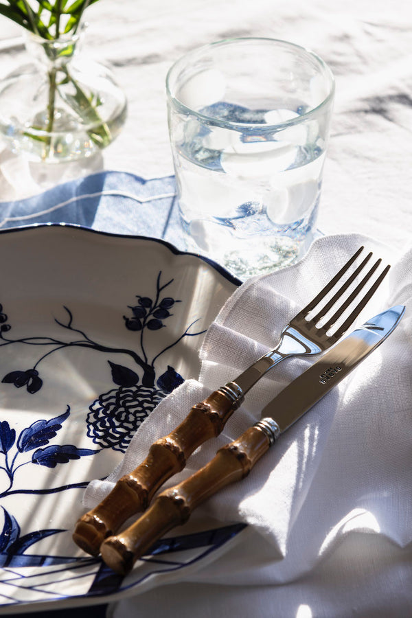 Bamboo Handle Cutlery