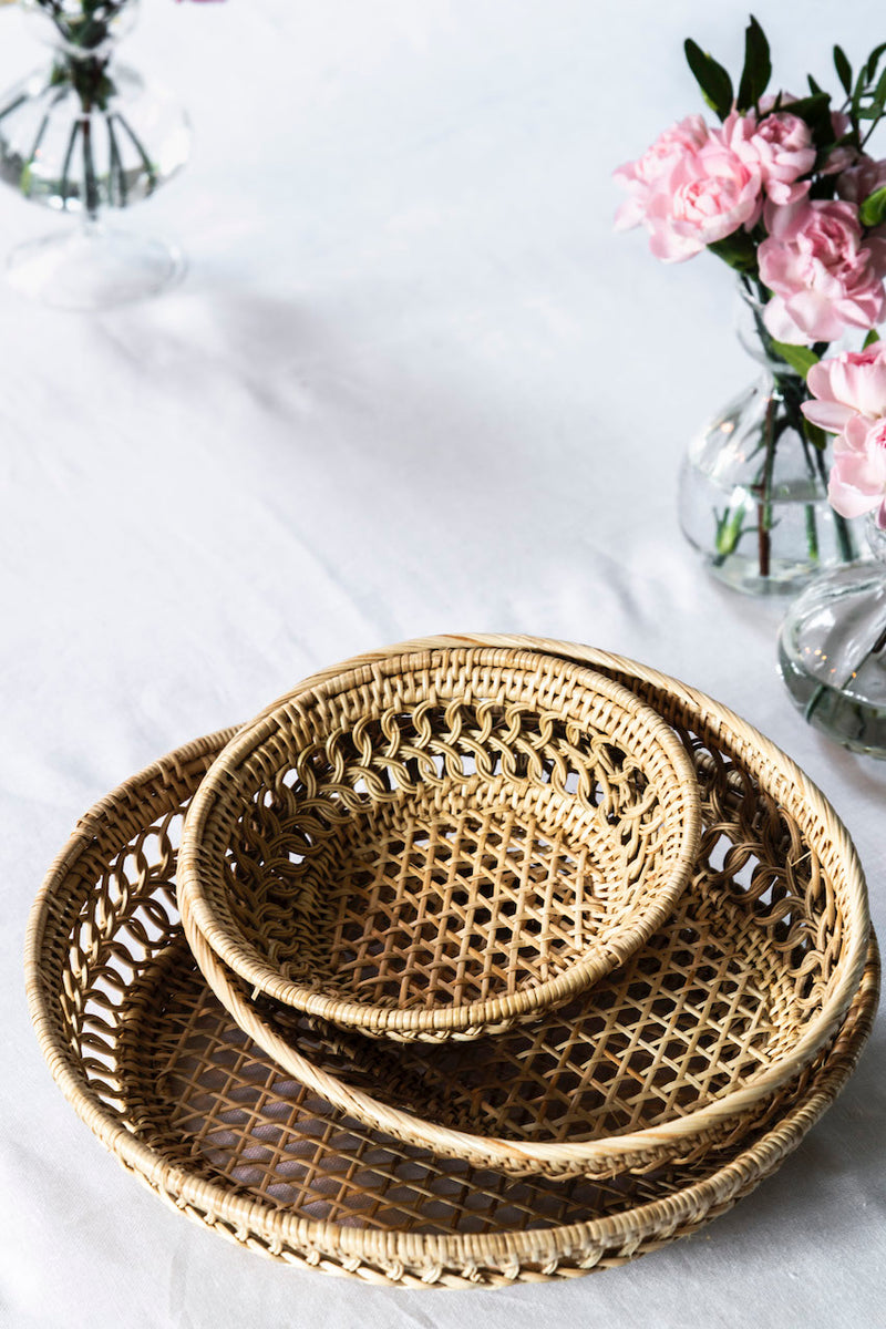Medium Rattan Basket