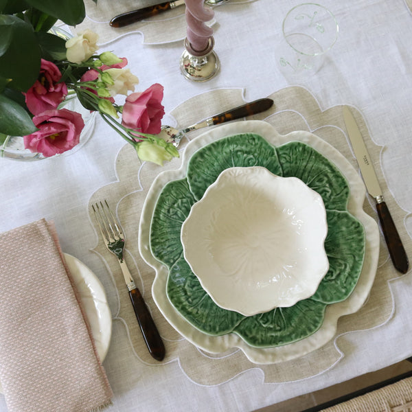 Cabbage Plates, Green