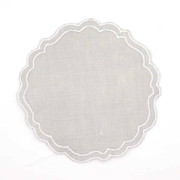 Greta Waxed Linen Coasters, Various Colours
