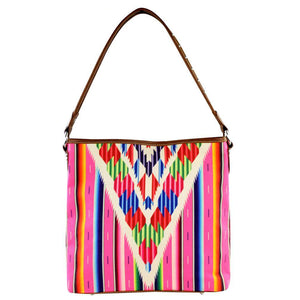 Montana West Colorful Serape Concealed Carry Hobo Bag - carriesherself.com