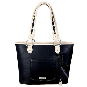 MW687G-8014 Montana West Buckle Collection Concealed Carry Tote - carriesherself.com