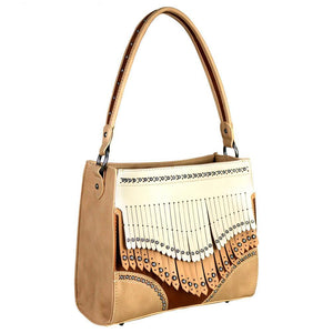 MW707G-8251 Montana West Fringe Collection Concealed Handgun Tote - carriesherself.com
