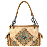 Montana West Aztec Pattern Concealed Carry Satchel Purse MW715G-8085 - carriesherself.com