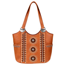 Sunburst Cut-Out Concealed Carry Tote Purse MW772G-8580