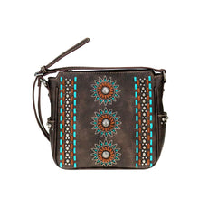 Sunburst Cut-Out Concealed Carry Crossbody Purse MW772G-9360