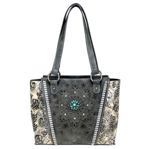 Montana West Tribal Print Concealed Carry Tote Purse MW784G-8317