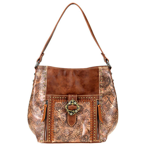 Floral Montana West Concealed Carry Hobo Purse MW803G-918