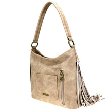 Montana West Lace-up Stitch Concealed Carry Hobo Purse MW818G-918