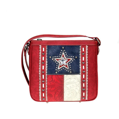 TX07G-8395 Montana West Texas Pride Collection Concealed Carry Crossbody - carriesherself.com
