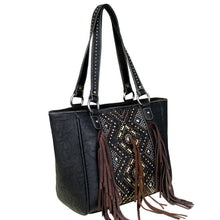 Montana West Fringe Concealed Tote MW440G-8014 - carriesherself.com