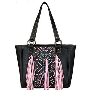 MW440G-8014 Montana West Fringe Collection Concealed Handgun Collection Tote - carriesherself.com