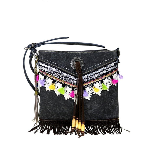 MW488G-8287 Montana West Fringe Collection Concealed Handgun Crossbody - carriesherself.com