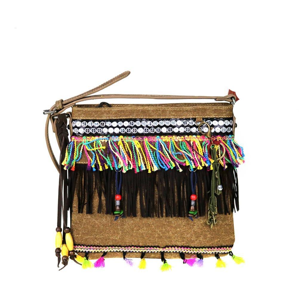MW489G-8287 Montana West Fringe Collection Concealed Handgun Crossbody - carriesherself.com