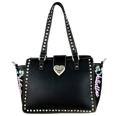 "MW504G-8250 Montana West Heart Collection ""Be My Valentine""Concealed Handgun Trapezoid Tote - carriesherself.com"