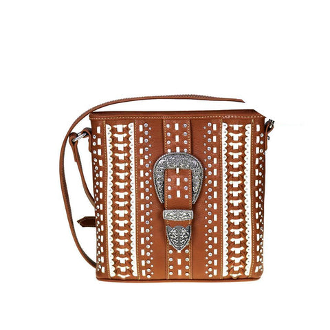 Montana West Buckle Concealed Crossbody MW536G-8287