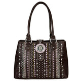 MW538G-8292 Montana West Concho Collection Concealed Handgun Satchel - carriesherself.com