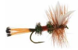 Feeder Creek Fly Fishing Assortment - 30 Dry Flies - 10 Patterns - Humpy, Blue Wing Olive, More - Feeder Creek