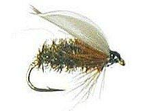 Feeder Creek Fly Fishing Assortment - 15 Dry Flies (Adams, Wulff and More) Size 14 - Feeder Creek