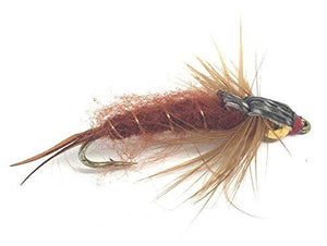 Fly Fishing Assortment of Wet Flies - 24 Flies in 8 Patterns / 3 Sizes with Box - Feeder Creek