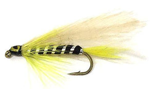 Feeder Creek Fly Fishing Trout Flies - BLACK GHOST STREAMER - 12 Wet Flies - 3 Sizes - Feeder Creek