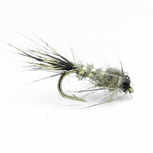Fly Fishing Flies  - 48 Classic Nymph- 8 Patterns in 3 Sizes (Brassie, Pheasant Tail, More) - Feeder Creek
