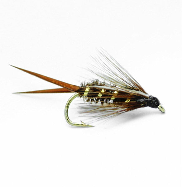Prince Nymph Fly Fishing Flies - Hand Tied Assorted Sizes 12,14,16,18 (3 of Each Size) - Feeder Creek