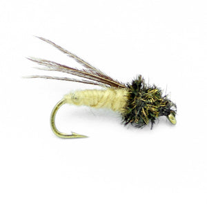 Fly Fishing Flies Assortment - Popular for Trout Fishing  - 30 Wet Flies - 15 Patterns - Feeder Creek