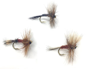 Feeder Creek Fly Fishing Trout Flies - The WULFF Assortment - Two Dozen Dry Flies - 4 Sizes - Feeder Creek
