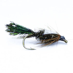 One Dozen Zug Bug Wet Flies-Hand Tied Sizes 12,14,16, 18 Fly Pattern