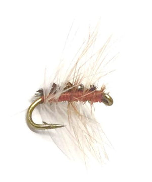 Crackleback Midge - 15 Midge Flies - 5 Size Assortment (18 - 24) - Many Colors