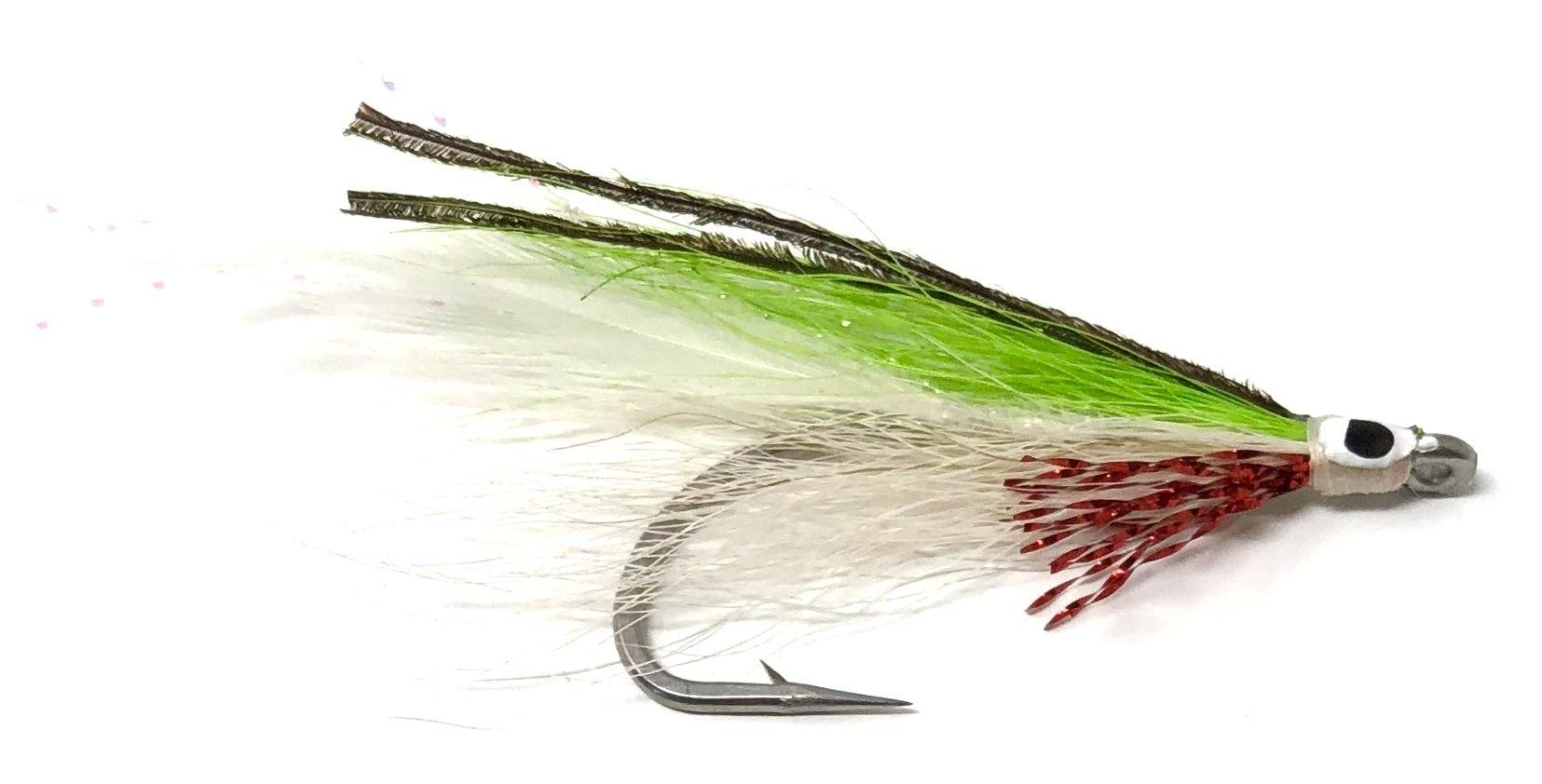 Purple Lefty/'s Deceiver Size 2 Saltwater Fly Fishing