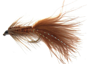 Wooly Bugger Fly Fishing Flies - One Dozen in 6 Color Options - 4 Size Assortment 6, 8, 10, 12 (3 of Each Size)