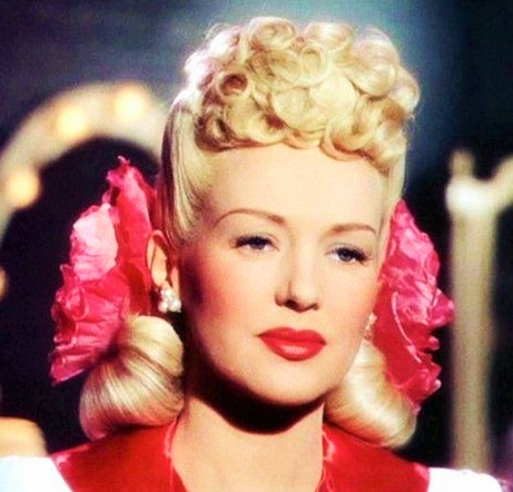 Betty Grable in the 1940s