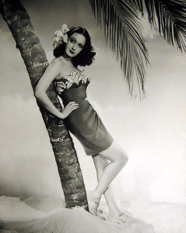 Dorothy Lamour in the 1940s, early 50s