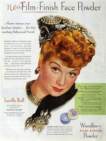 Lucille Ball - Ad - Peppermint-twist-vintage.com
