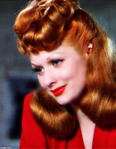 Lucille Ball in the 1940s