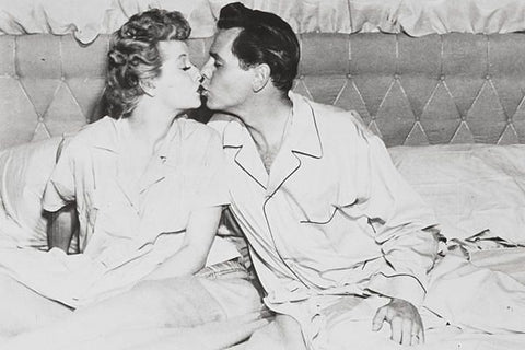 Lucy and Desi - PJs 1950s