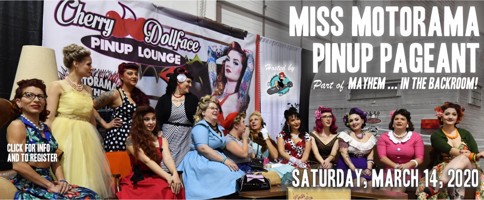 Miss Motorama Pin-up pageant 2020