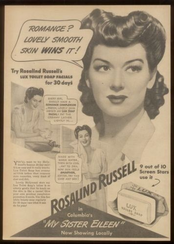 Rosalind Russell - Lux Soap