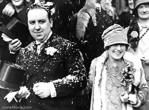 Alfred Hitchcock Wedding Photo