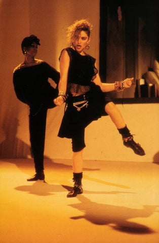 Madonna started a fashion trend in the 80s