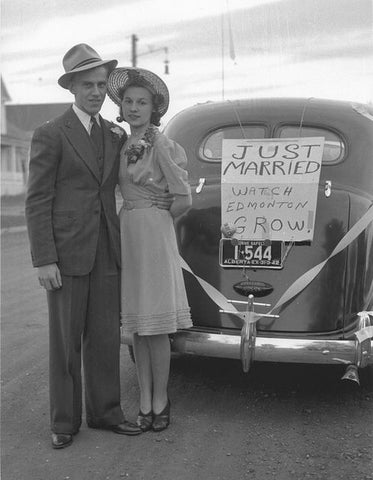 Calgary Couple Married in the 1940s