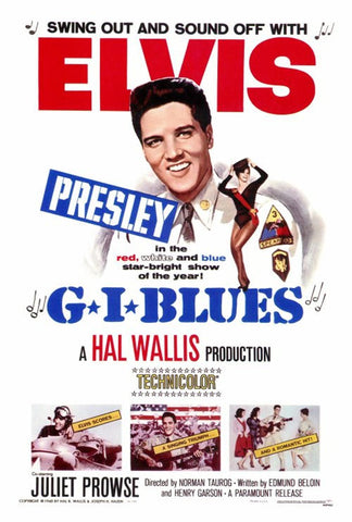 Elvis in GI Blues - Poster