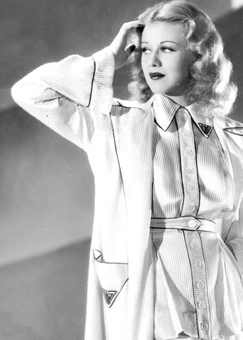 Ginger Rogers - 1935 in PJs
