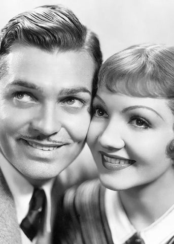 Clark Gable and Claudette Colbert - It Happened one night