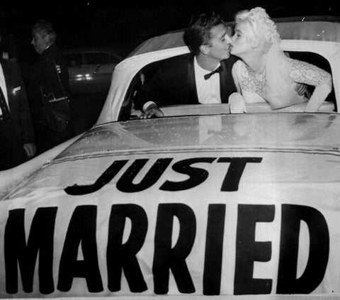 Jayne Mansfield, 1958 Just Married - Micky Hargitay