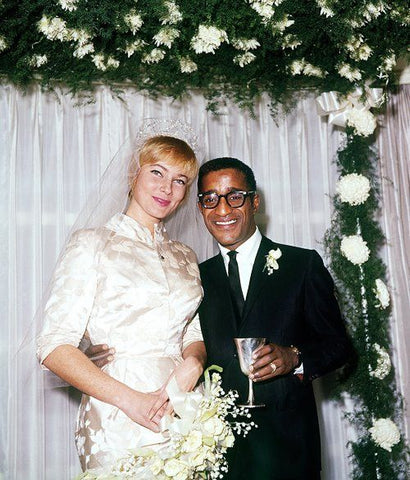 May Britt and Sammy Davis Jr 1960 Wedding